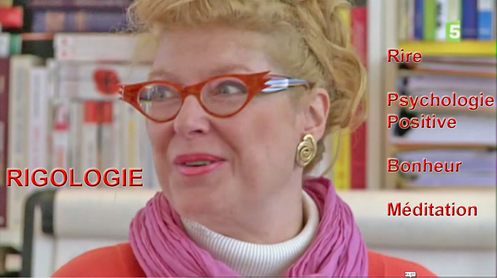 Corinne Cosseron créatrice de la rigologie