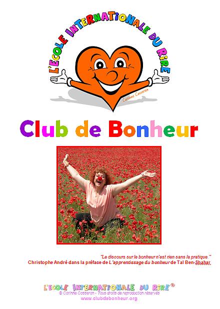 Manuel des Animateurs de Clubs de Bonheur de l'Ecole Internationale du Rire