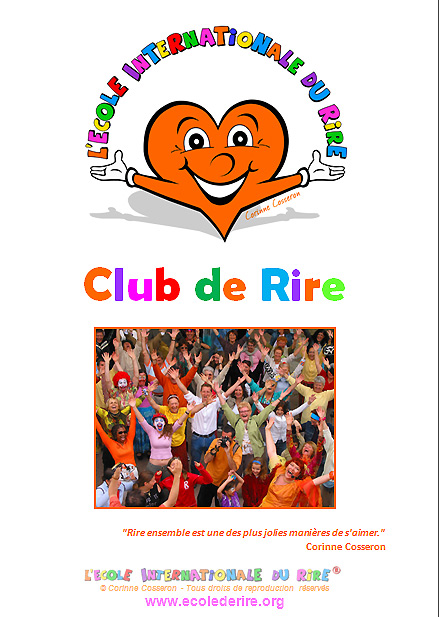 Manuel des Animateurs de Clubs de yoga du rire de l'Ecole Internationale du Rire