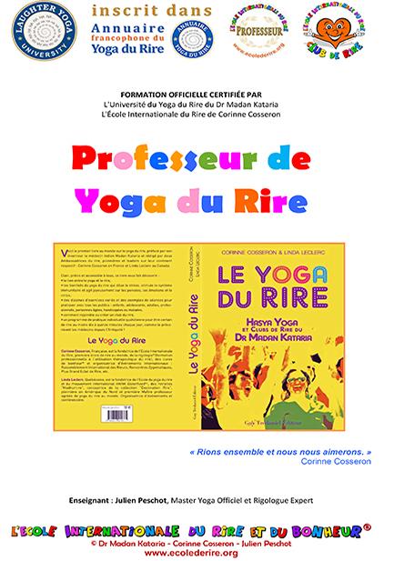 Manuel officiel de formation de professeurs de yoga du rire du Dr Madan Kataria de l'Ecole Internationale du Rire