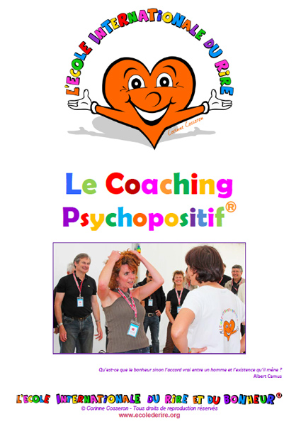 Manuel de formation de coaching psychopositif de l'Ecole Internationale du Rire