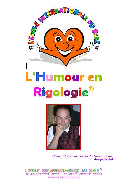 Manuel de formation L'humour en rigologie de l'Ecole Internationale du Rire