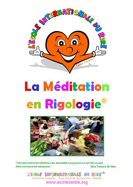 Manuel de formation de la méditation en rigologie  de l'Ecole Internationale du Rire