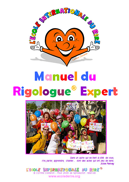 Manuel de formation de rigologues experts de l'Ecole Internationale du Rire