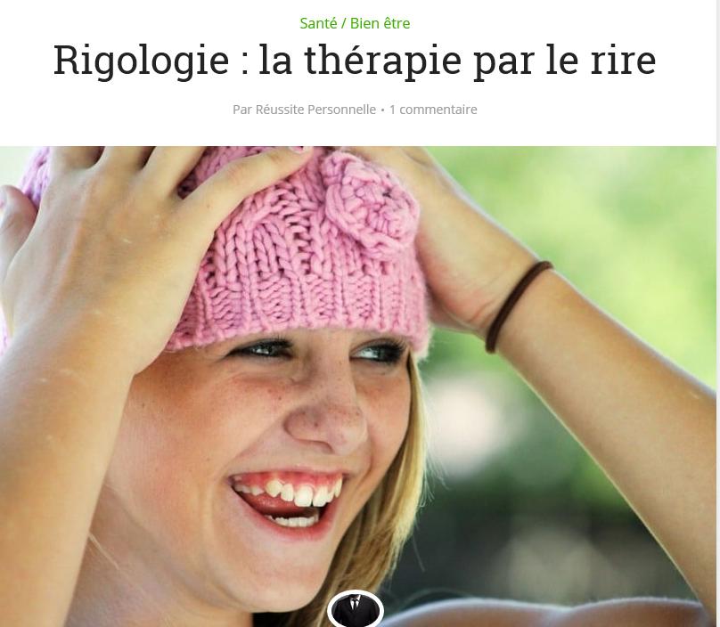 rigologie la thérapie par le rire et le bonheur