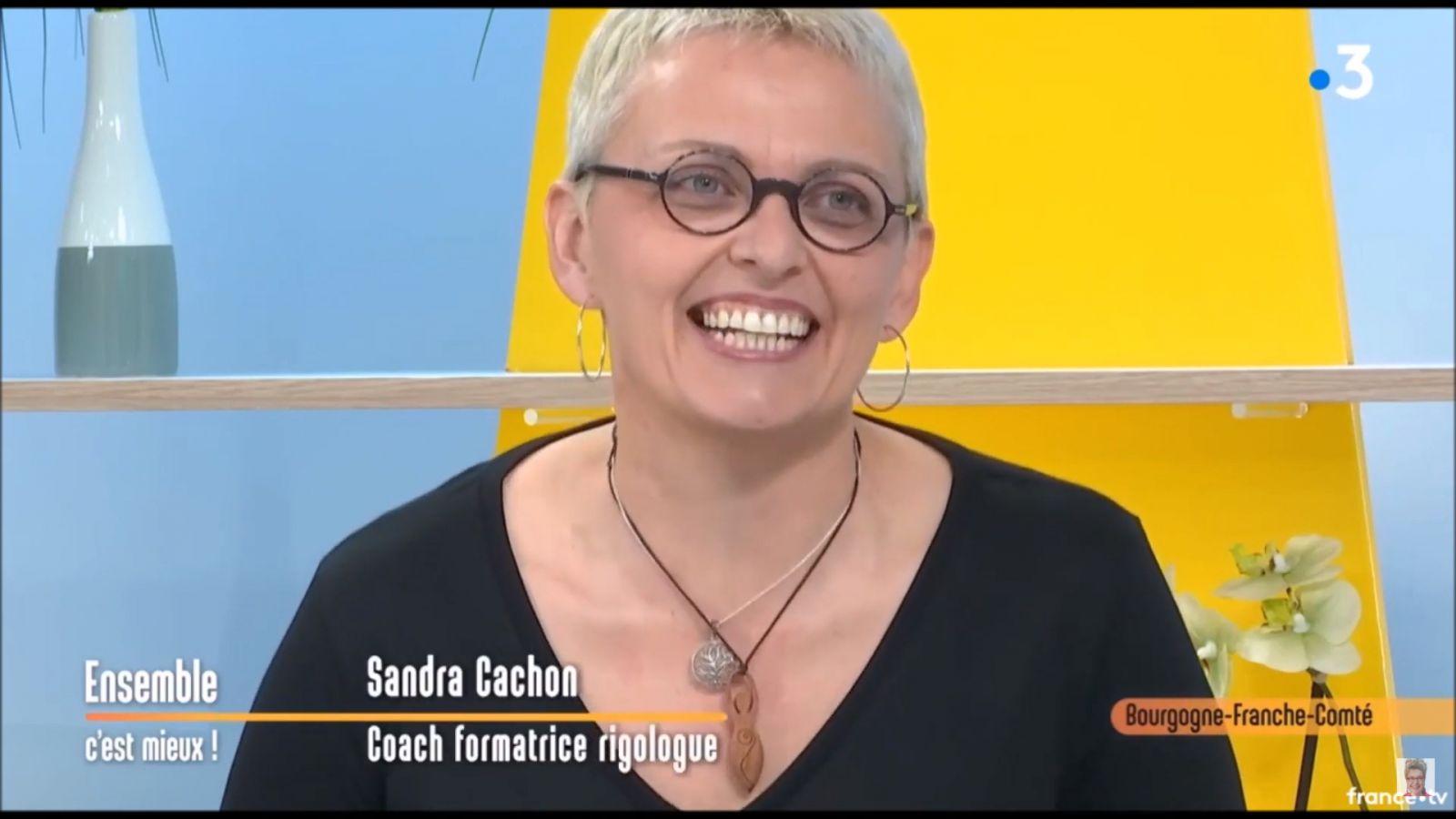 Sandra Cachon, Rigologue Experte, présente la rigologie