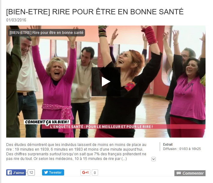 club de yoga du rire de paris
